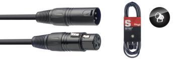 DMX cable, XLR/XLR (m/f), 10 m (33') (ST-SDX10-3)
