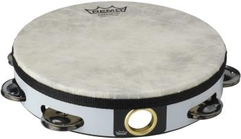 """08"""" Tambourine with 1 Row of 8 jingles - Pretuned - high pitch (RE-TA-5108-00)"""
