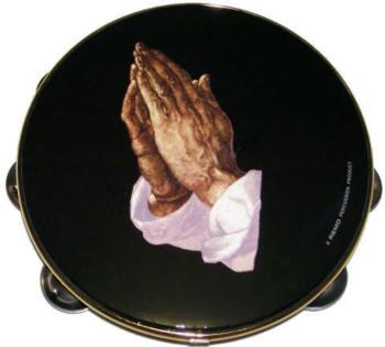 ".8""TAMB 1ROW JGL PRAYING HAND (RE-TA-9108-14)"