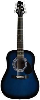 Acoustic Dreadnought Guitar with Basswood top, 1/2 model (ST-SW201 1/2 BLS)