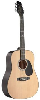 Acoustic Dreadnought Guitar with basswood top (ST-SW201N)