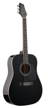 Acoustic Dreadnought Guitar with basswood top (ST-SW201BK)
