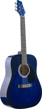 Acoustic Dreadnought Guitar with basswood top (ST-SW201BLS)