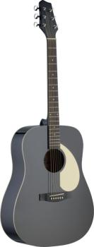 Dreadnought acoustic guitar with Linden top (ST-SA30D-BK)