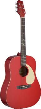 Dreadnought acoustic guitar with Linden top (ST-SA30D-RA)