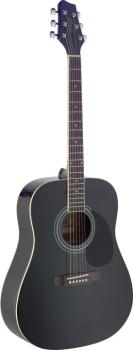 Dreadnought acoustic guitar with Spruce top (ST-SA40D-BK)