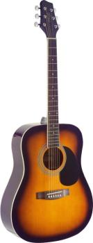 Dreadnought acoustic guitar with Spruce top (ST-SA40D-BS)
