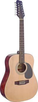 Dreadnought acoustic guitar with Spruce top (ST-SA40D/12-N)