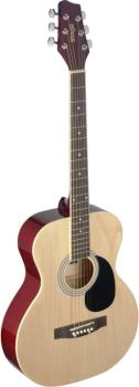 4/4 natural-coloured auditorium acoustic guitar with linden top (ST-SA20A NAT)