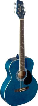 4/4 blue auditorium acoustic guitar with linden top (ST-SA20A BLUE)