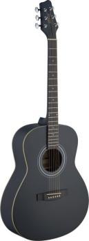 Auditorium acoustic guitar with Linden top (ST-SA30A-BK LH)
