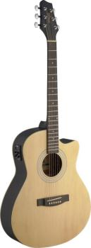 Electro-acoustic Auditorium guitar cutaway with Linden top & (ST-SA30ACE-N)
