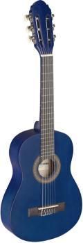 1/4 blue classical guitar with linden top (ST-C405 M BLUE)