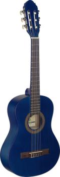 1/2 blue classical guitar with linden top (ST-C410 M BLUE)