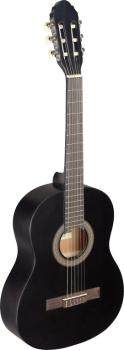 3/4 black classical guitar with linden top (ST-C430 M BLK)