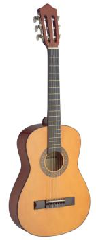 1/2 natural-coloured classical guitar with basswood top (ST-C510)