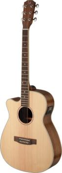 Asyla series 4/4 cutaway auditorium acoustic-electric guitar with soli (JA-ASY-ACE LH)