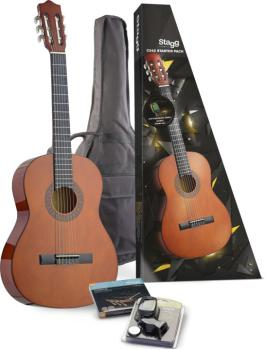 C542 Classical guitar (w/ basswood top) & accessories package (ST-C542 STARTER P)