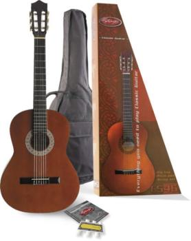 C546 Classical guitar (w/ spruce top) & accessories package (ST-C546 PACK)