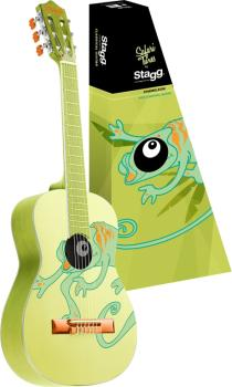 Classical guitar with chameleon graphic (ST-C530 CHAMELEON)