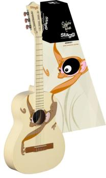 Classical guitar with monkey graphic (ST-C530 MONKEY)