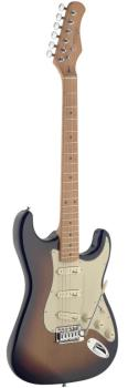 Electric guitar with solid alder body (ST-SES50M-SB)