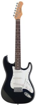 "Standard ""S"" electric guitar (ST-S250-BK)"