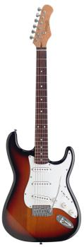 "Standard ""S"" electric guitar (ST-S250-SB)"