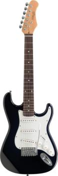 "Standard ""S"" electric guitar 3/4 model (ST-S300 3/4 BK)"