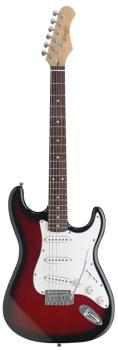 "Standard ""S"" electric guitar (ST-S300-RDS)"