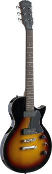 "Rock ""L"" Series, P90 electric guitar with solid alder body (ST-SEL-P90SB)"