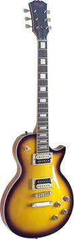 L Series, Zebra electric guitar with solid Mahogany body & Maple archt (ST-SEL-ZEB-2TS)