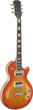 L Series, Zebra electric guitar with solid Mahogany body & Maple archt (ST-SEL-ZEB-HB)
