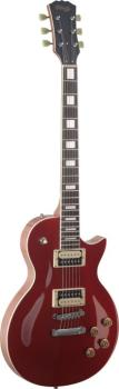 L Series, Zebra electric guitar with solid Mahogany body & Maple archt (ST-SEL-ZEB-MRD)