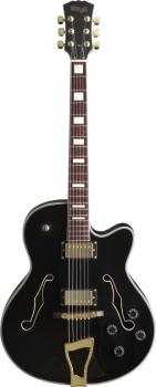 """Jazz""-style electric guitar - Semi-acoustic model (ST-A300-BK)"