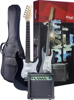 Surfstar electric guitar + amplifier package (ST-ESURF 250 BK US)
