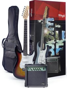 Surfstar electric guitar + amplifier package (ST-ESURF 250 SB US)