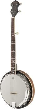 5-string Bluegrass Banjo Deluxe with metal pot, lefthanded model (ST-BJM30 LH)