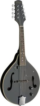 Black acoustic-electric bluegrass mandolin with nato top (ST-M50 E BLK)