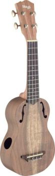 Traditional soprano ukulele with solid acacia top (ST-USX-ACA-S)