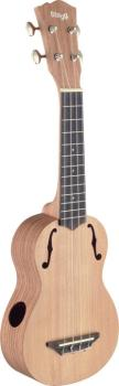 Traditional soprano ukulele with solid cedar top (ST-USX-ROS-S)