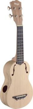 Traditional soprano ukulele with solid spruce top (ST-USX-SPA-S)