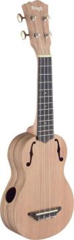 Traditional soprano ukulele with solid cedar top (ST-USX-ZEB-S)