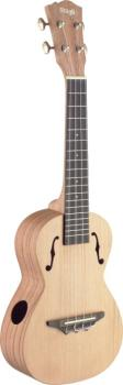 Traditional concert ukulele with solid cedar top (ST-UCX-ROS-S)