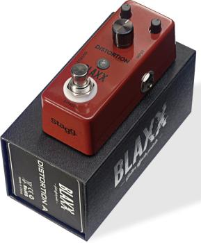 Distortion effect pedal for electric guitar (ST-BX-DIST A)