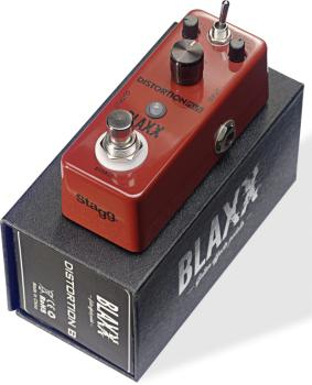 3-mode Distortion effect pedal for electric guitar (ST-BX-DIST B)