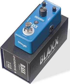 Overdrive effect pedal for electric guitar (ST-BX-DRIVE A)
