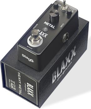 3-mode 'Metal' guitar effect pedal (ST-BX-METAL)