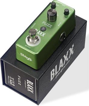 Fuzz effect pedal for electric guitar (ST-BX-FUZZ)