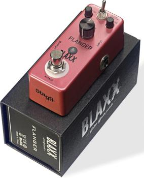 2-mode Flanger effect pedal for electric guitar (ST-BX-FLANGER)